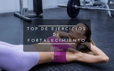 Los ejercicios de fortalecimiento que debes hacer