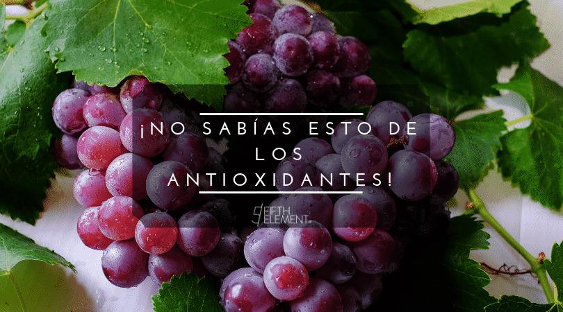 ¡No sabías esto de los antioxidantes!